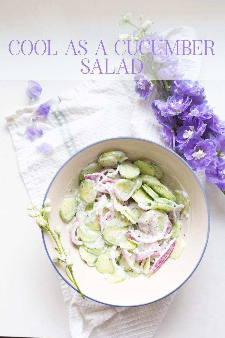 kpardell Cucumber salad-